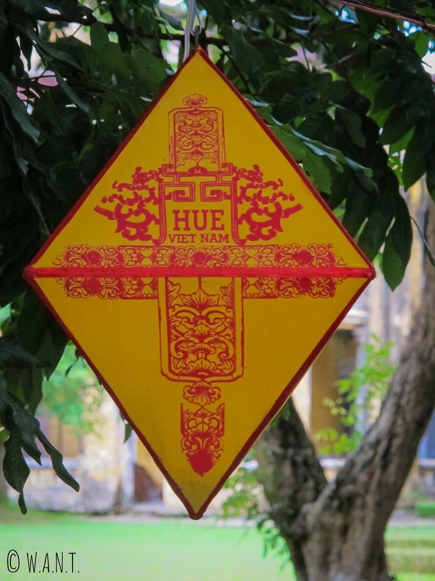 Lampion dans la Citadelle de Hué