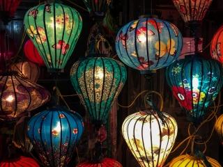 Lampions de la vieille ville de Hoi An