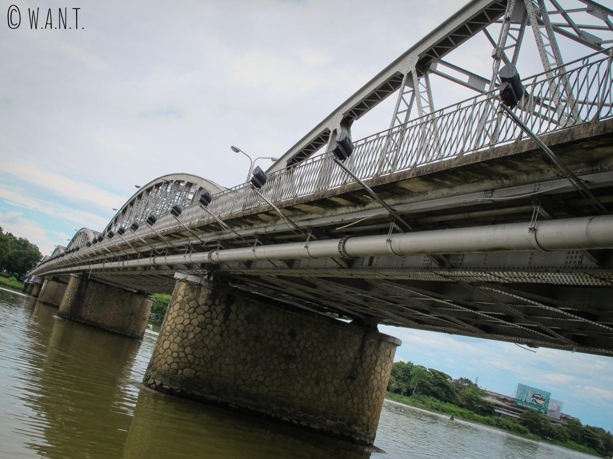 Le pont Trang Tien de Hué a été conçu par Gustave Eiffel
