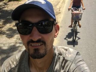 Nous nous sommes beaucoup déplacés à vélo dans la région de Hoi An