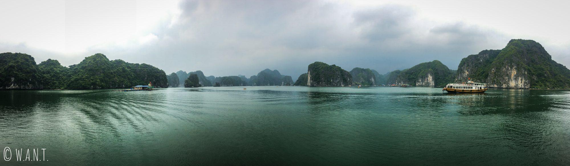 Panorama sur la Baie de Lan Ha