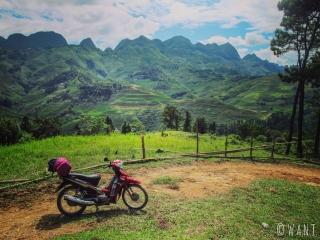Point de vue sur la route de Yen Minh