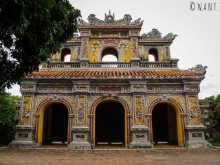 Porte dans la Citadelle de Hué