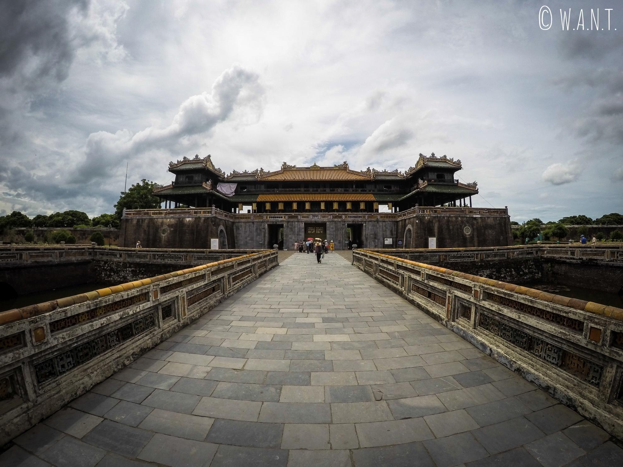 Porte du Midi à la Citadelle de Hué