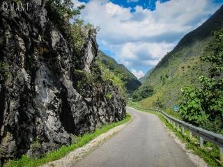 Route entre Dong Van et Sa Phin