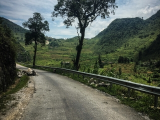Sur la route entre Meo Vac et Yen Minh