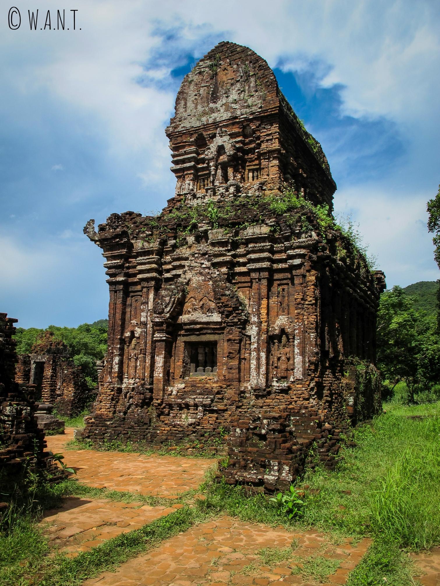Temple Cham du site UNESCO de My Son
