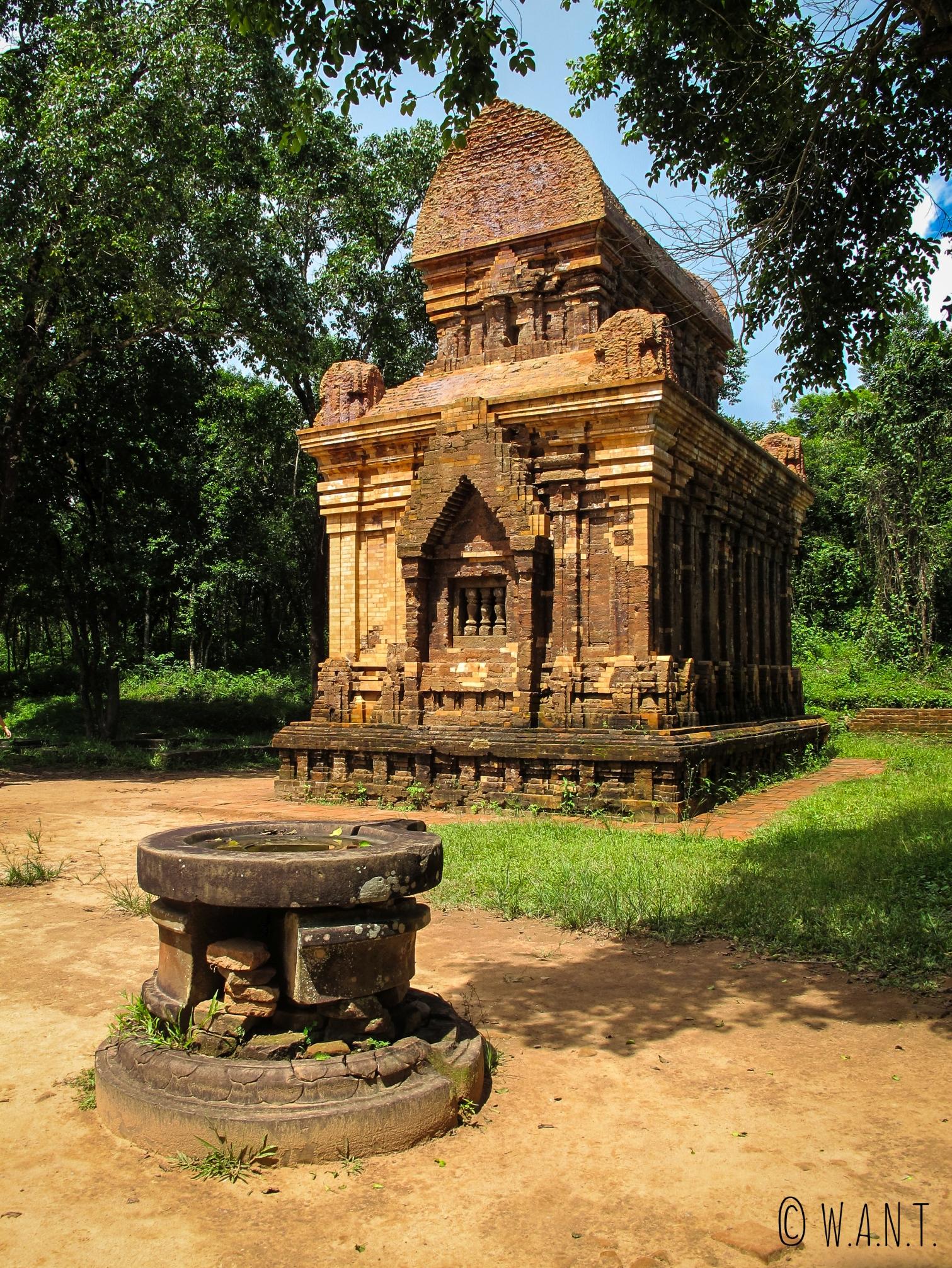 Temple du site de My Son