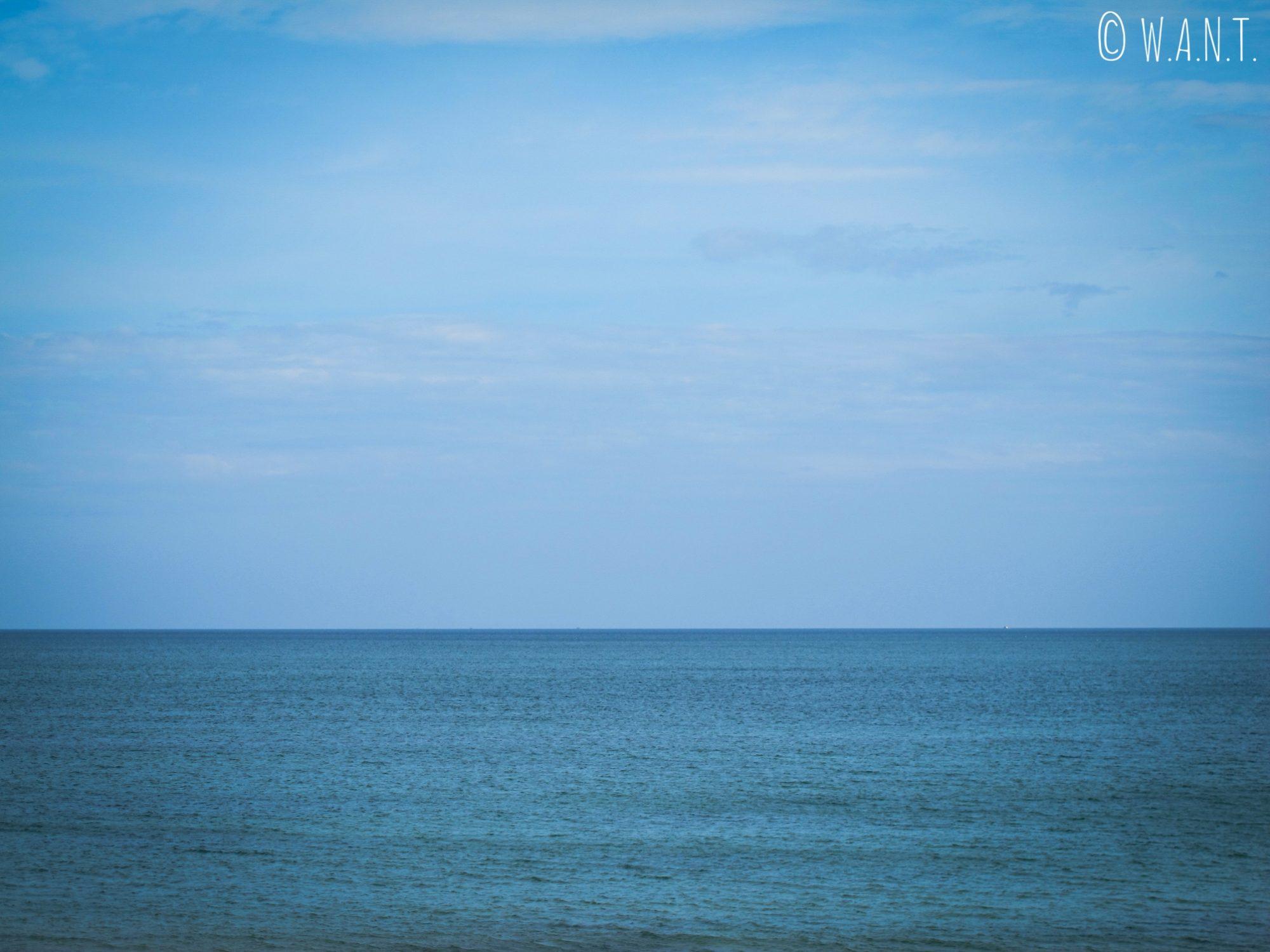 Vue sur la mer de Chine méridionale depuis Hué