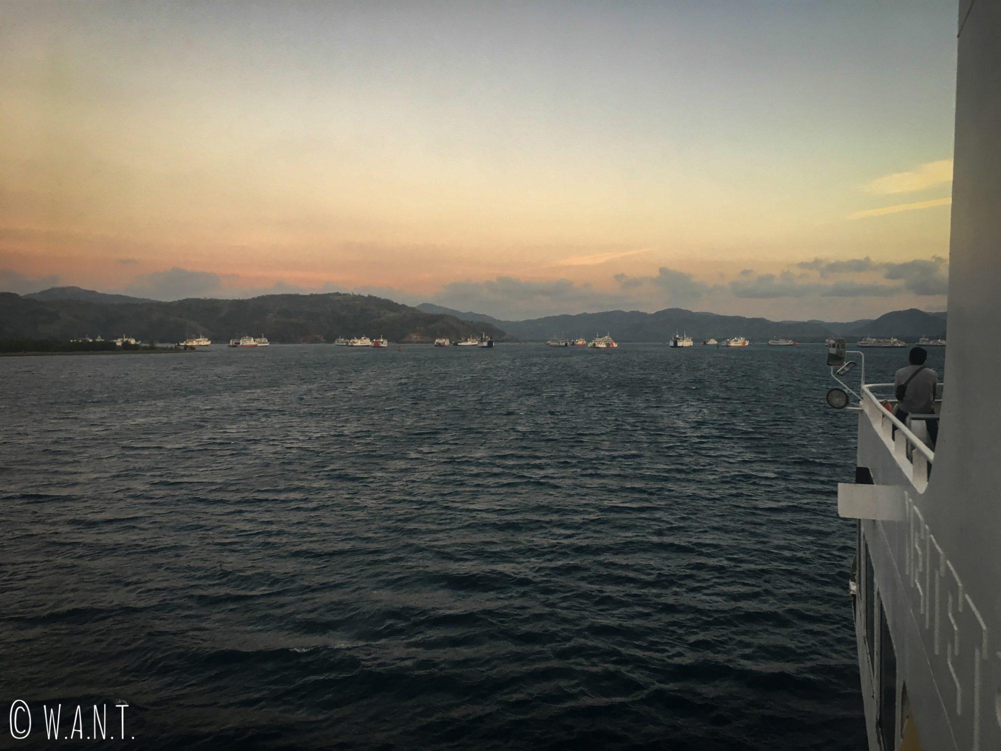 Arrivée sur Lombok en ferry depuis Bali