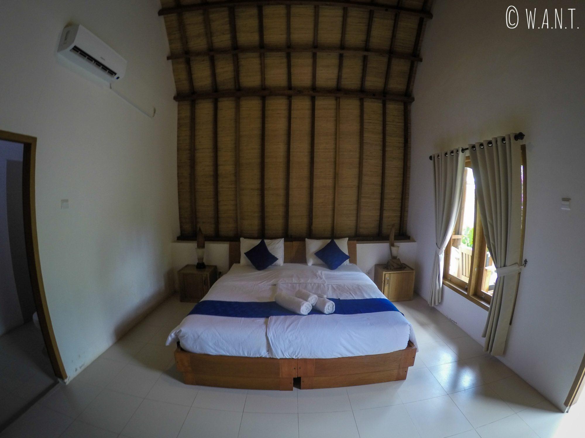 Chambre de l'hôtel Teras Lombok Bungalows à Senggigi