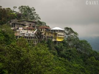 Habitations autour du Mont Batur à Bali