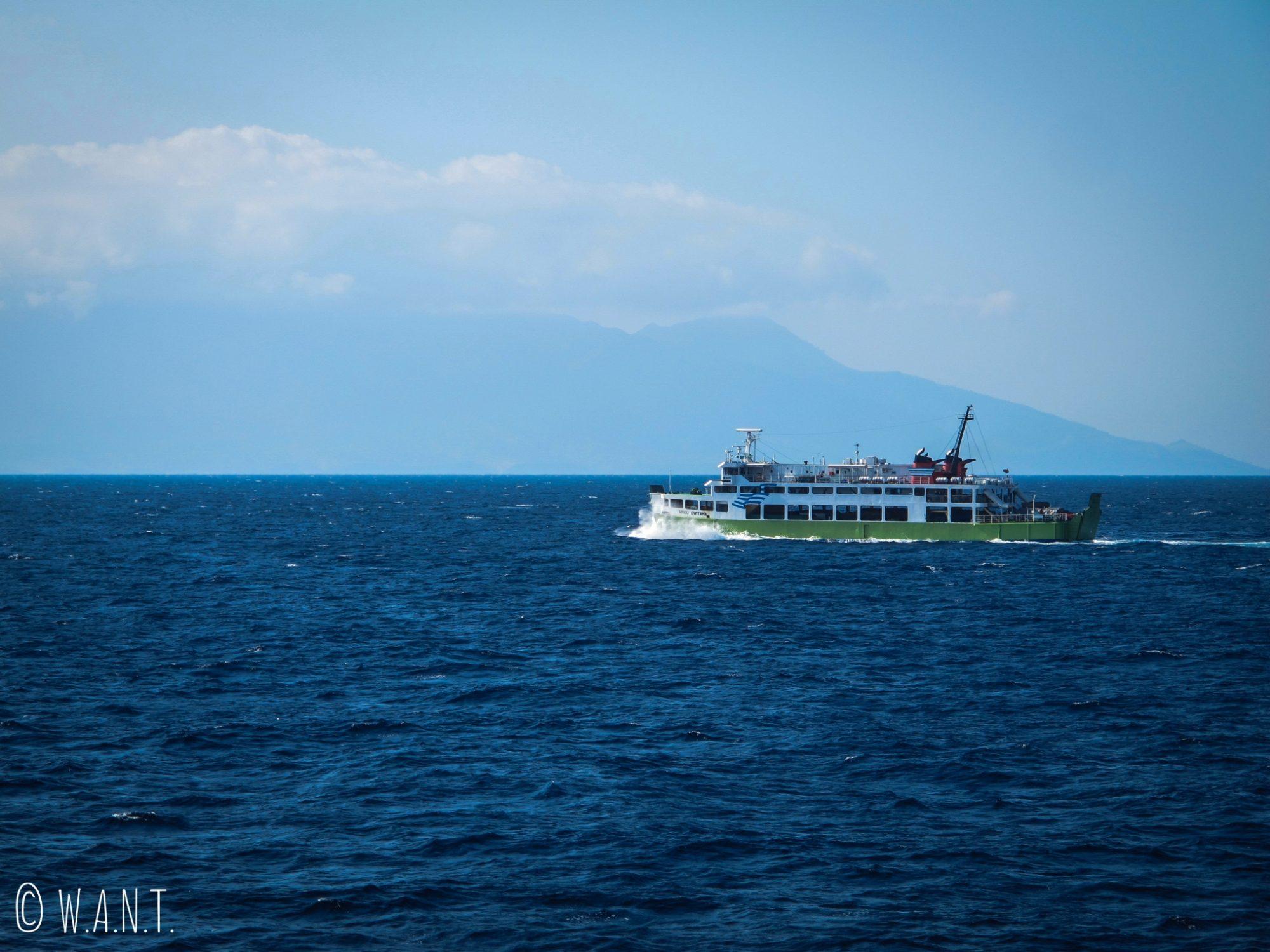 Speedboat reliant Bali à Lombok