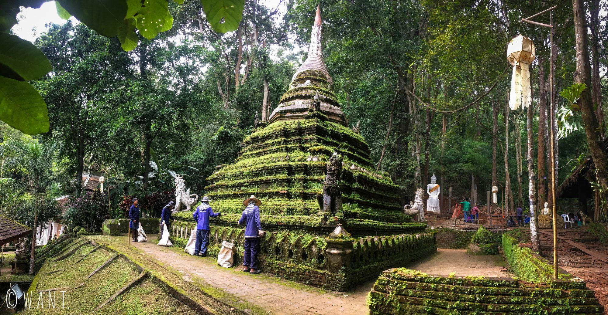 Ancienne stupa du Wat Pha Lad de Chiang Mai