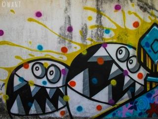 Art de rue à Yogyakarta