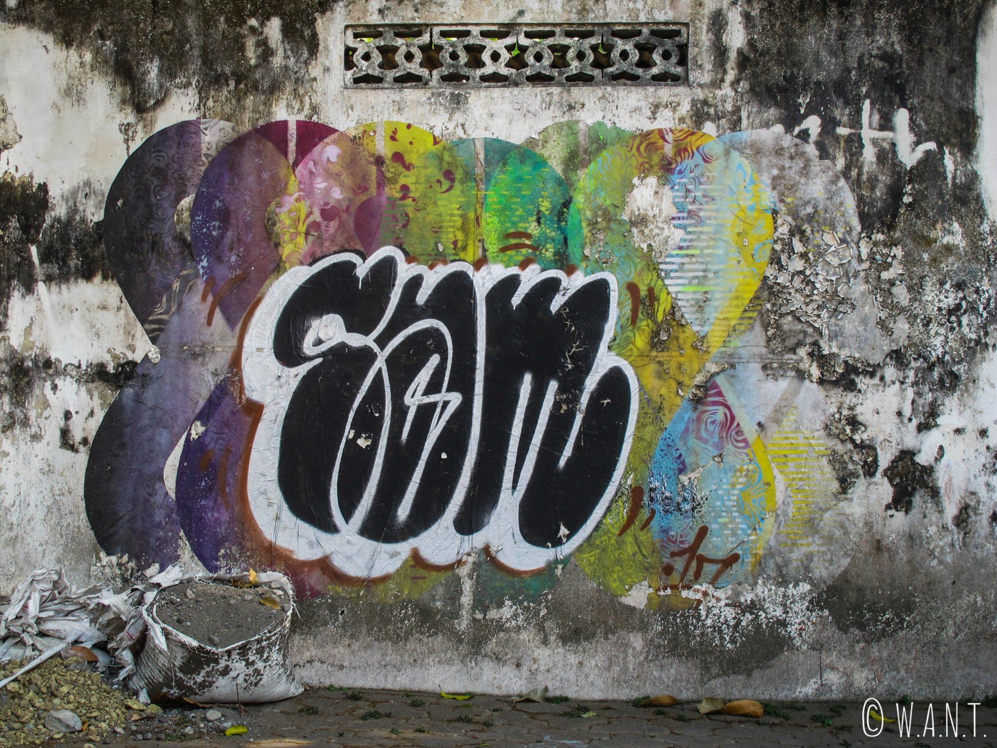 Art de rue dans la ville de Yogyakarta