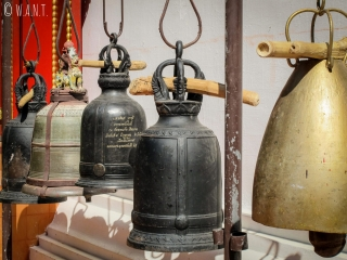 Cloches au Wat Phra Kaeo de Chiang Rai
