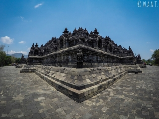Coin du temple de Borobudur