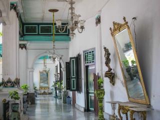 Coursive extérieure du Palais du Sultan de Yogyakarta