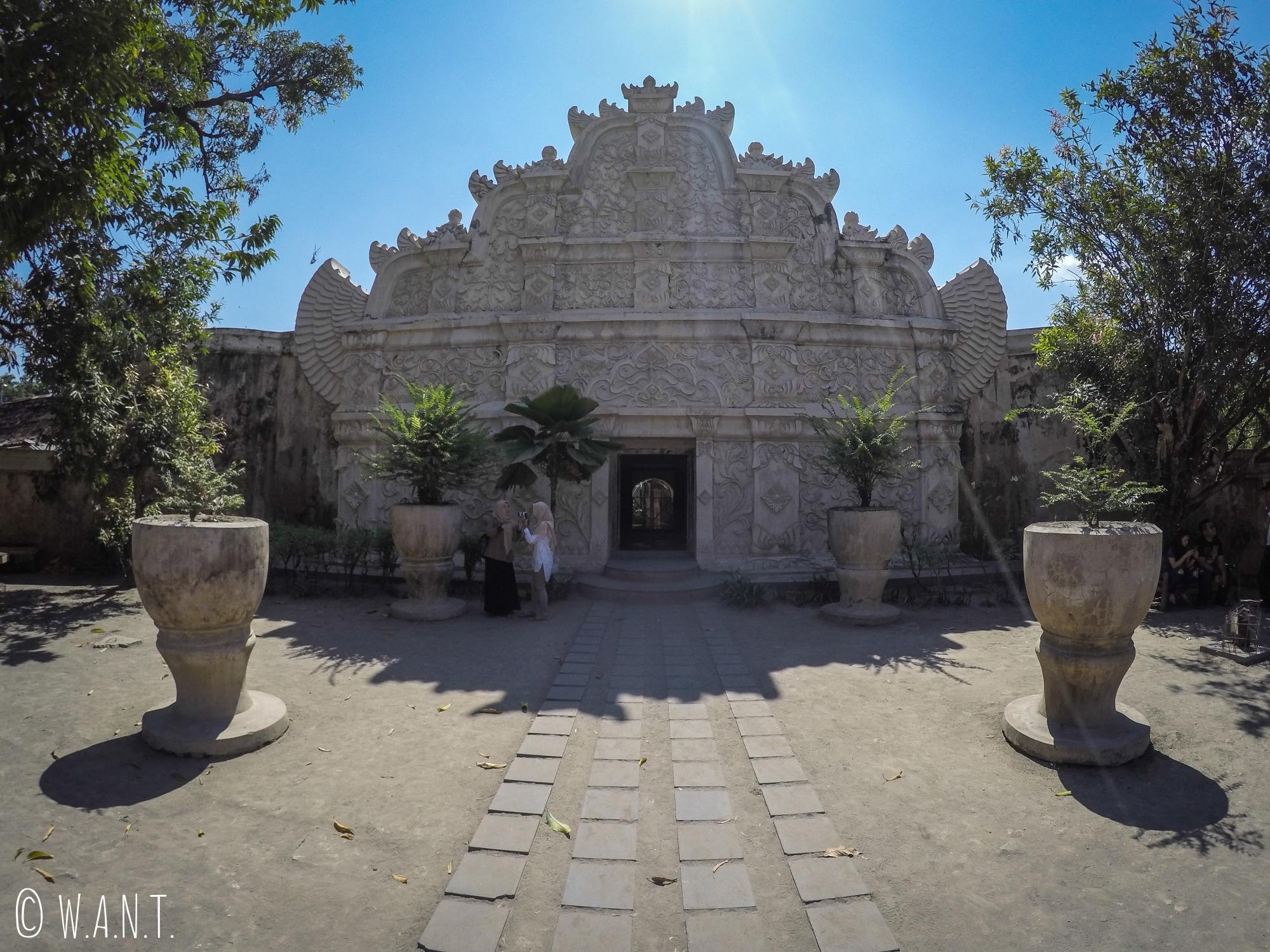 Entrée extérieure du Taman Sari de Yogyakarta