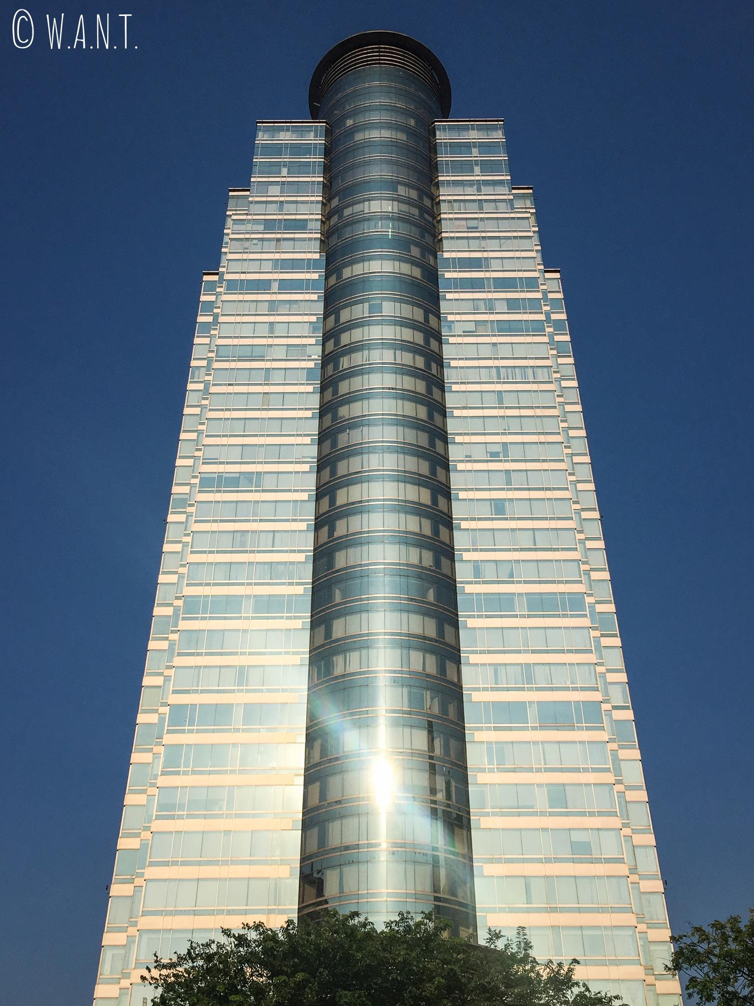 Gratte-ciel dans le centre-ville de Jakarta
