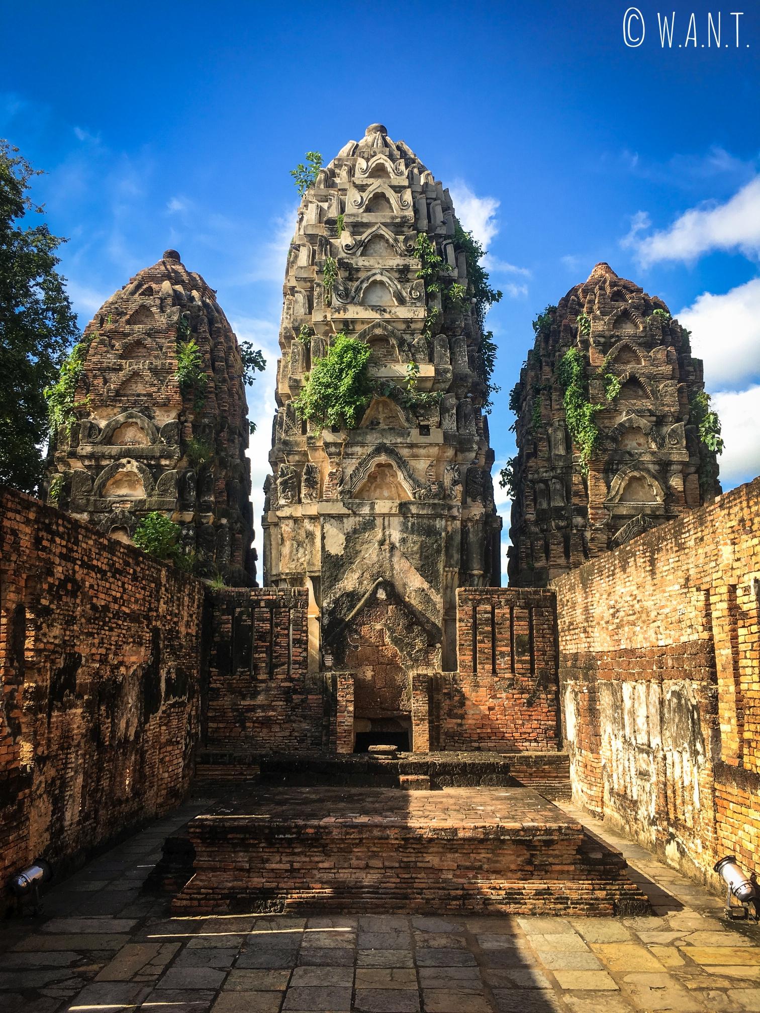 Le Wat Si Sawai nécessite un détour dans la zone centrale de Sukhothai