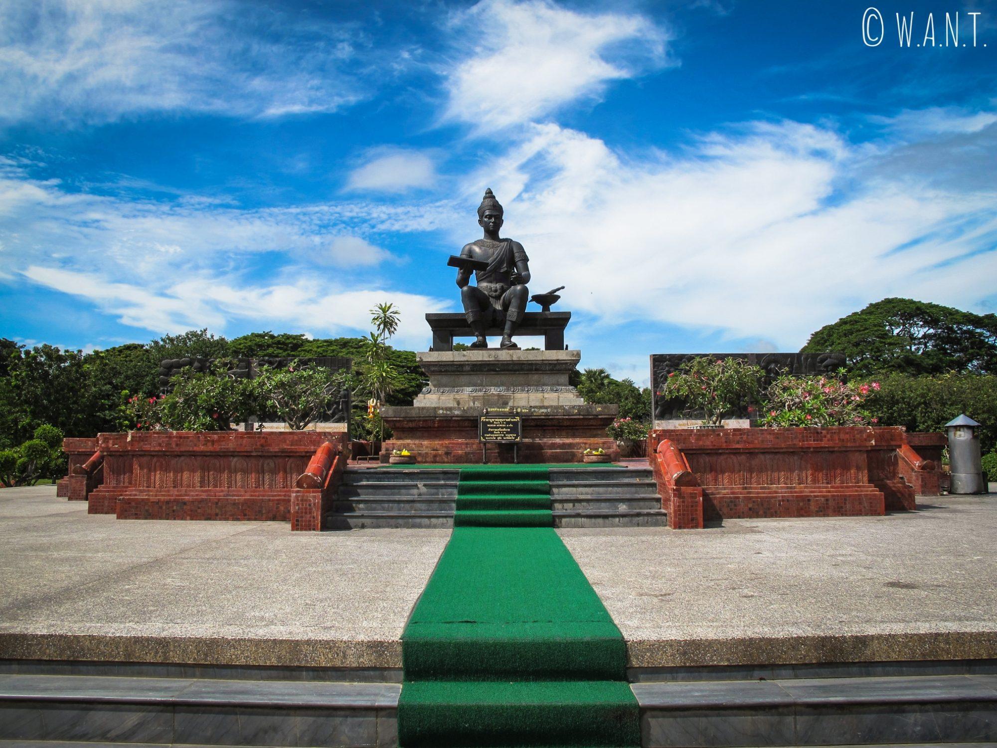 Le Wat Tra Kuan rend hommage au roi Rama Khambeng à Sukhothai