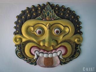 Ornement du Palais du Suktan à Yogyakarta