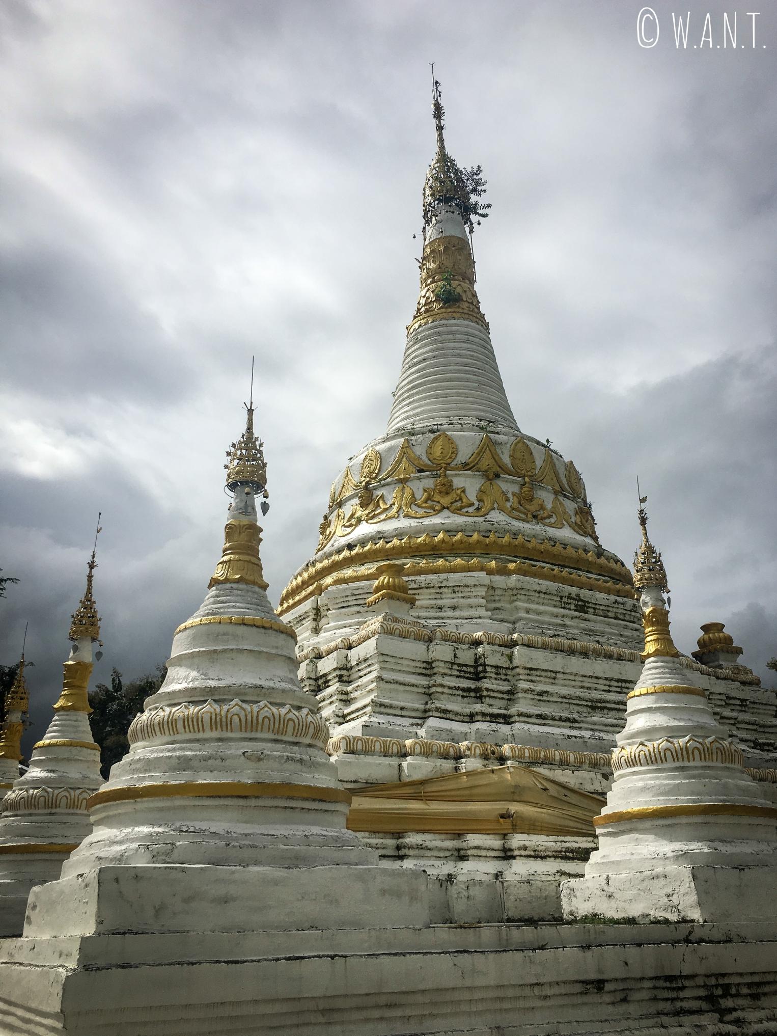 Stupa du Wat Luang de Pai
