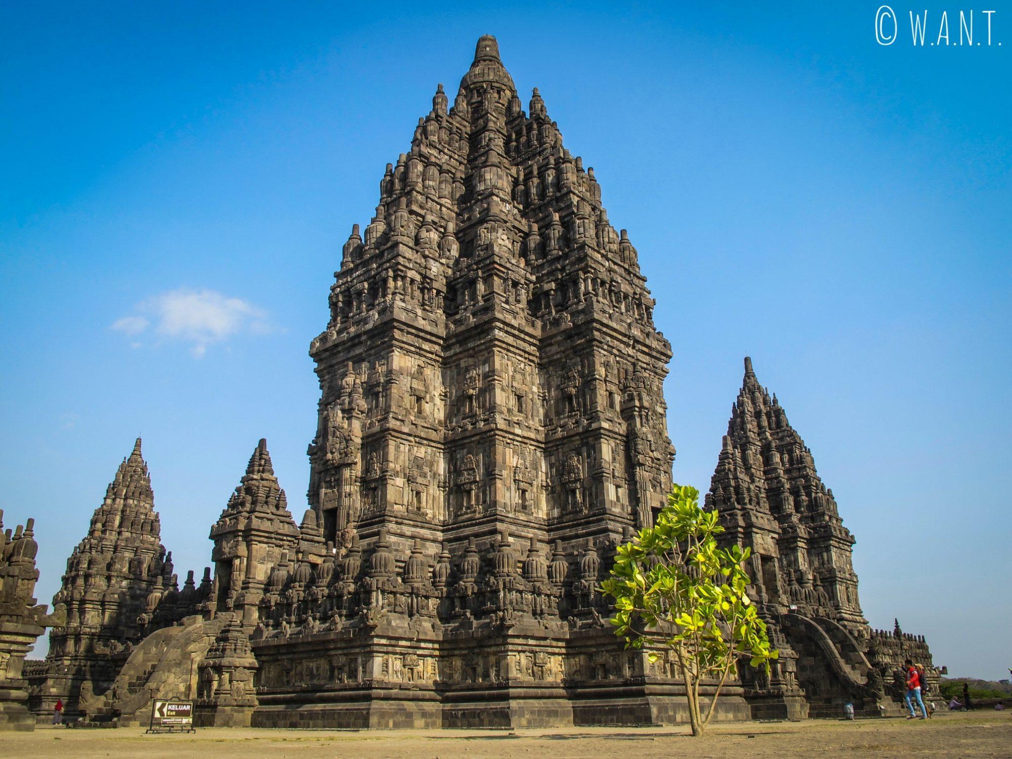Temple de Prambanan dédié à Shiva