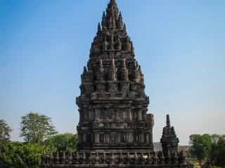 Temple secondaire de l'ensemble de Prambanan