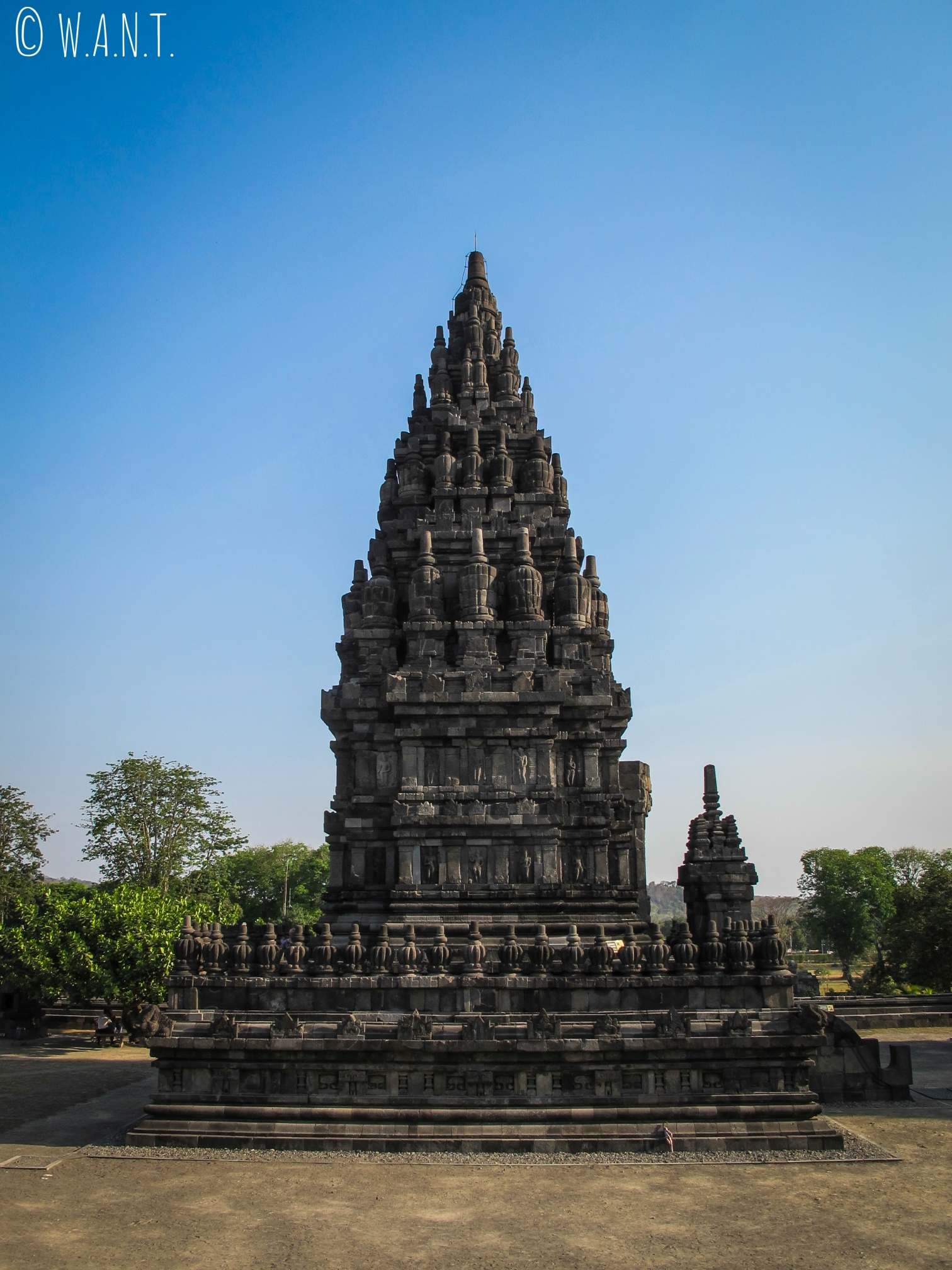 Temple secondaire de l'ensemble de Prambanan