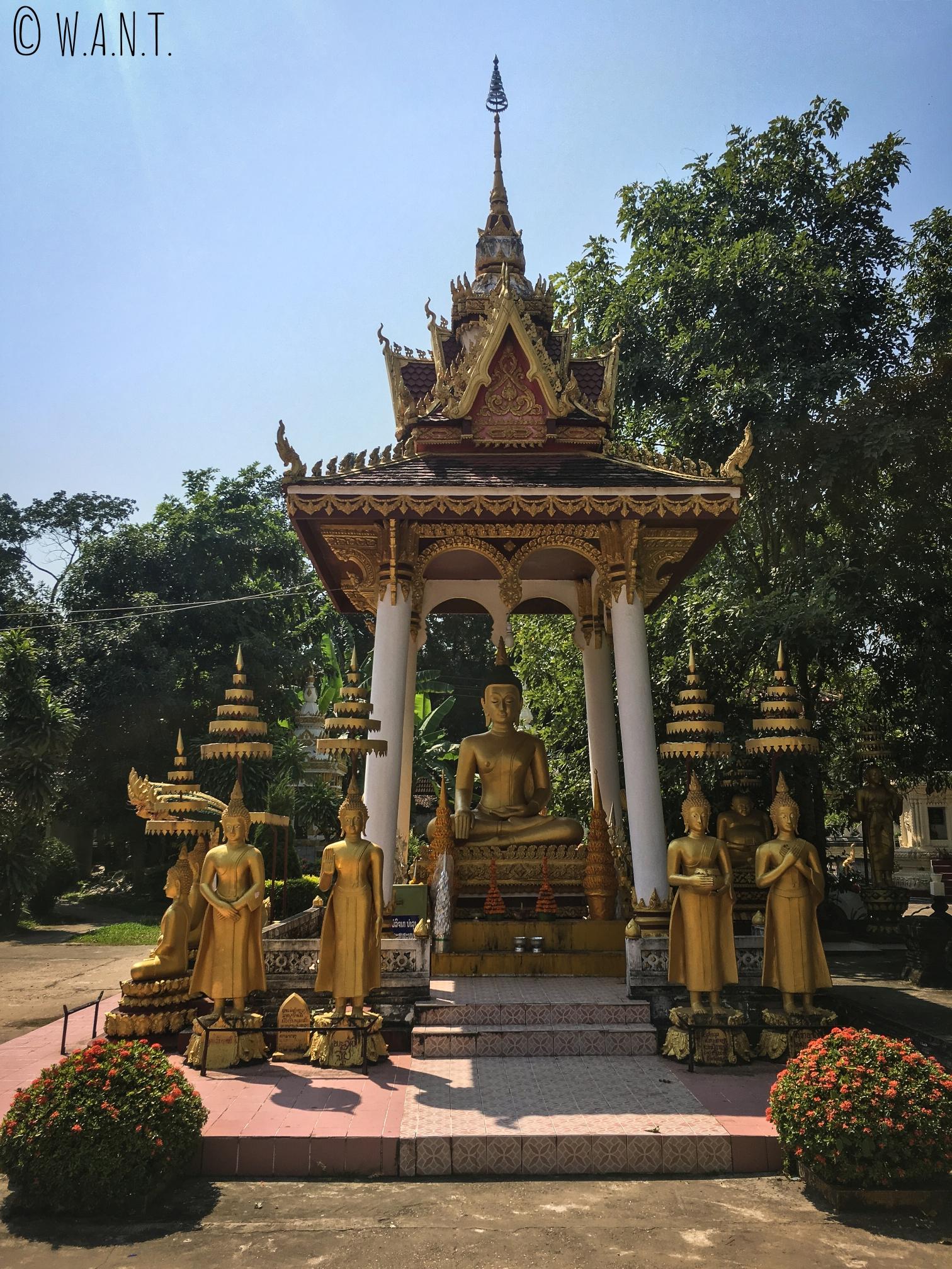 Bouddha du Vat Sisakhet de Vientiane