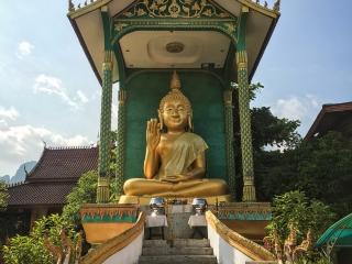 Bouddha du Wat Thah de Vang Vieng