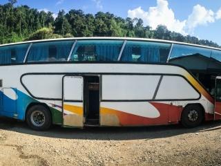 Bus local pour rejoindre Luang Prabang à Vang Vieng