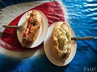 Ces délicieux et copieux sandwichs sont la spécialité de Vang Vieng