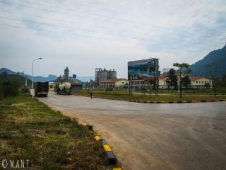 Cimenterie sur la boucle de Thakhek