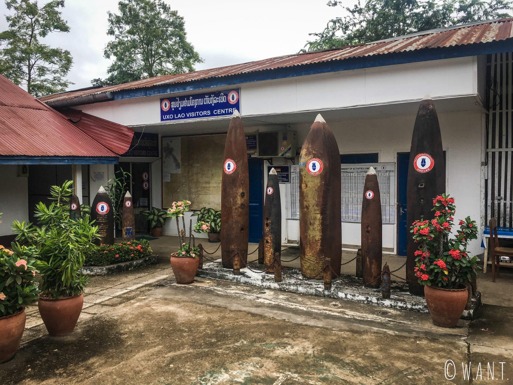 Entrée du UXO Lao Centre de Luang Prabang