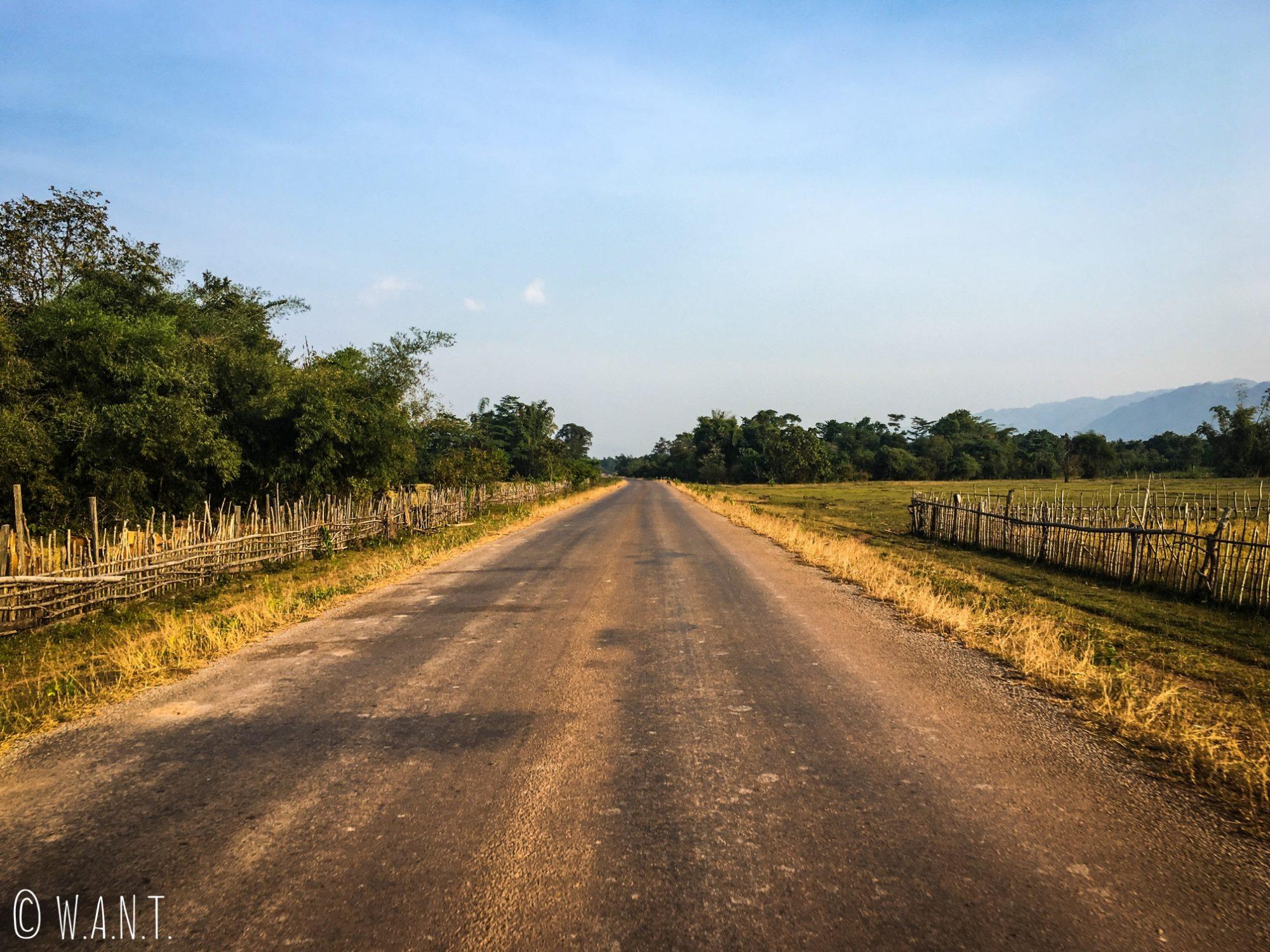 La route permettant de rejoindre Konglor est sûrement la plus belle de la boucle de Thakhek