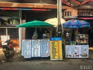 Notre stand de sandwich préféré de Viang Vieng, situé à côté du bureau Leo Adventure Tour