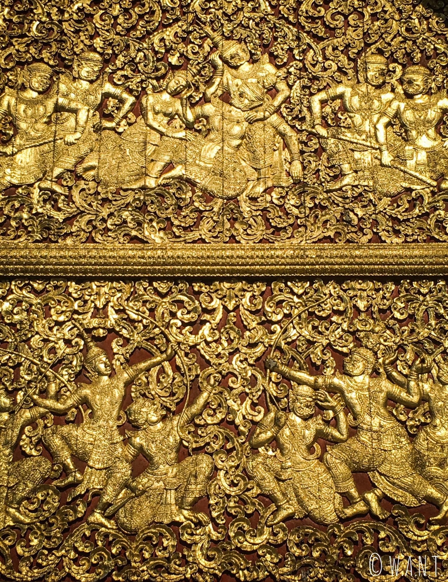 Ornements du Vat Xieng Thong de Luang Prabang