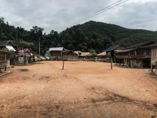 Panorama d'un village près de Luang Namtha
