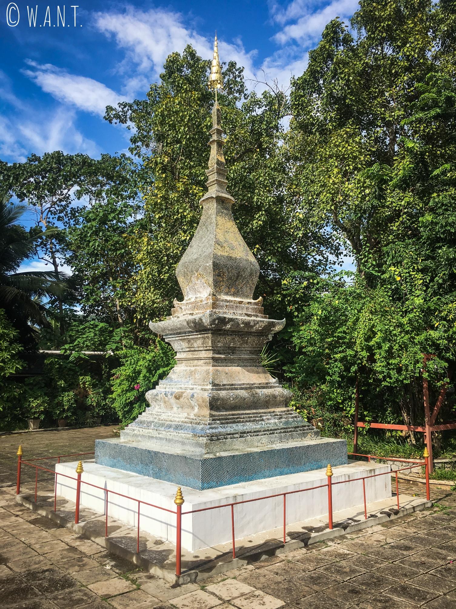 Stupa au Vat Xieng Thong de Luang Prabang