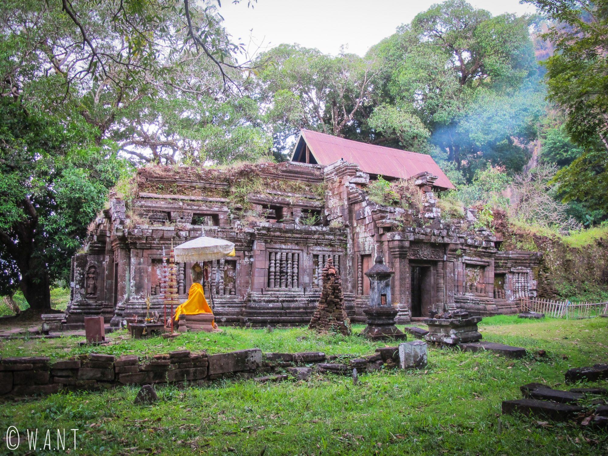 Temple sur le sanctuaire de Vat Phou