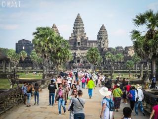 Angkor Wat aux heures de pointe