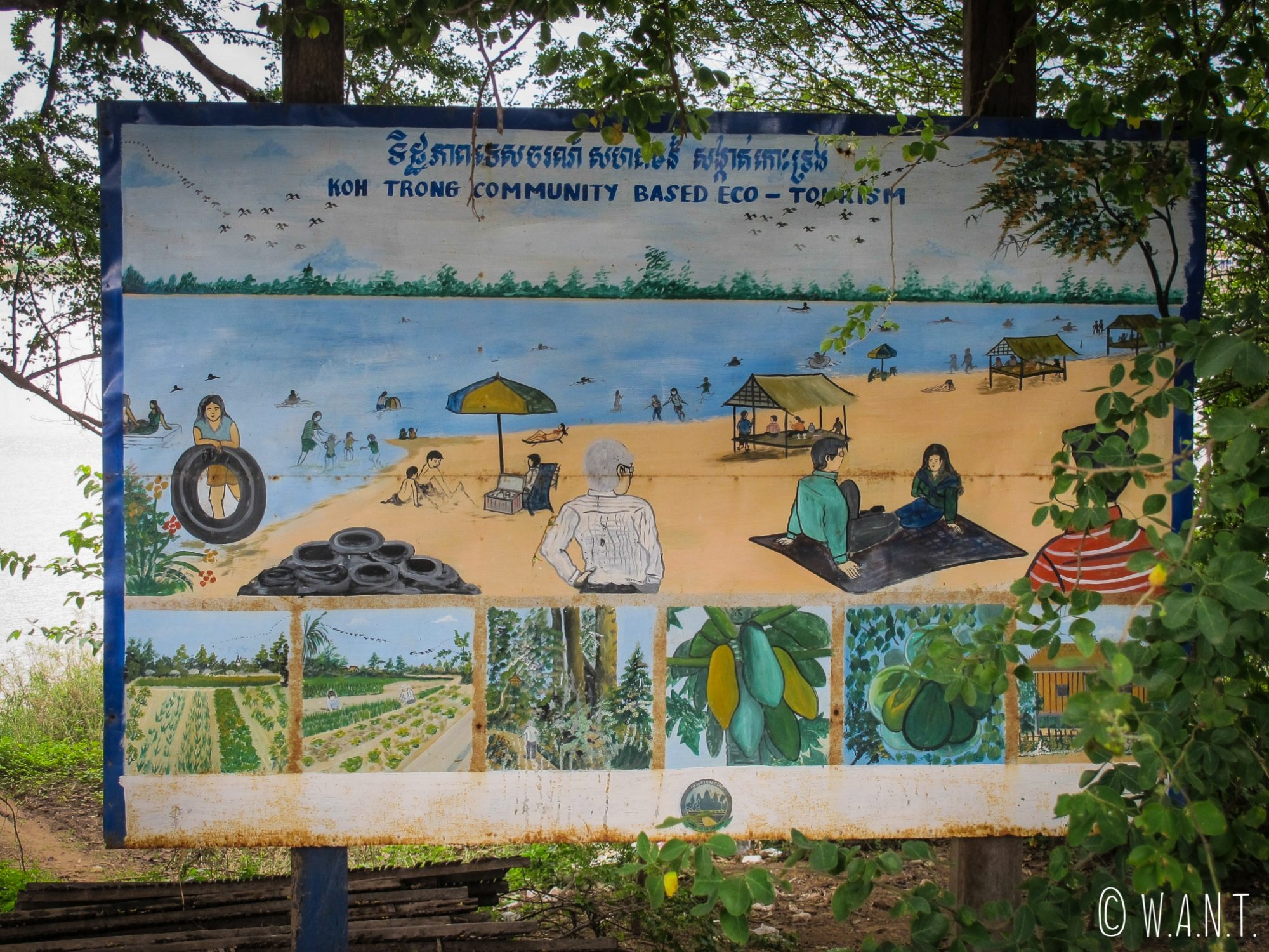 Arrivée sur l'île de Koh Trong