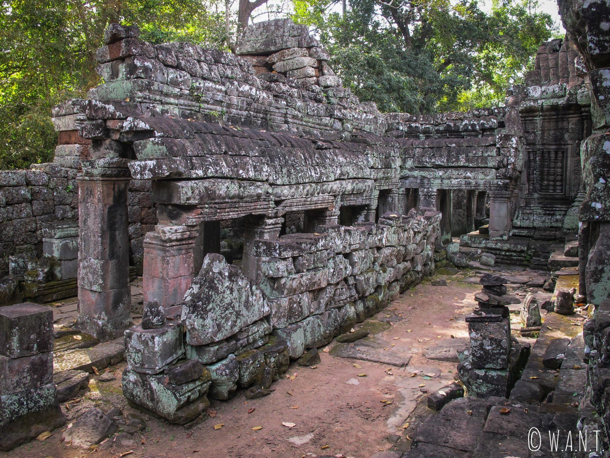 Bâtiment du temple Banteay Kdei d'Angkor