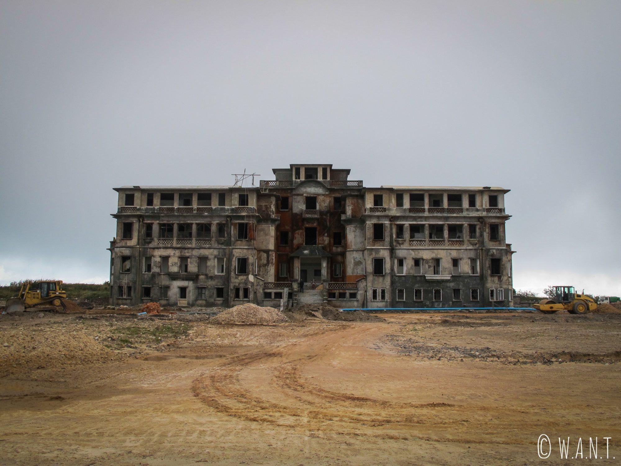 Casino abandonné de Bokor Hill Station près de Kampot