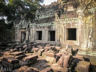 Coursive extérieure du temple Preah Khan à Angkor