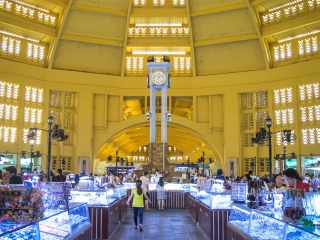 Dôme du Marché Central de Phnom Penh